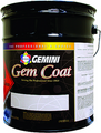 GEMINI 510-0053-5 Flat Precatalyzed Gem Coat Lacquer  5gal.
