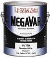 Lenmar Megavar White Conversion Varnish Topcoat SEMI-GLOSS 1G