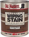 OLD MASTERS 12804 QT Natural Walnut Wiping Stain Classics 240 VOC