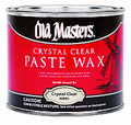 OLD MASTERS 30901 1LB Crystal Clear Paste Wax