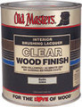 OLD MASTERS 92804 QT Semi Gloss Clear Wood Finish (Brushing Lacquer)