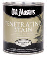 OLD MASTERS 40204 QT Golden Oak Penetrating Stain