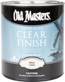 OLD MASTERS 75101 1G Satin H2O Acrylic Varnish