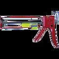 NEWBORN 1/10G Drip Free EZ Thrust Parallel Frame Hex Rod Caulk Gun