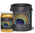 MODERN MASTERS MM221 1G WARM SILVER MATTE METALLIC PAINT