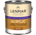 Lenmar AquaPlastic Urethane Clear Coatings SEMI-GLOSS Gallon