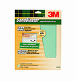 "3M 20060-CC 9"" X 11"" 60 GRIT Green Sandblaster Paint Stripping sheets 3PK"