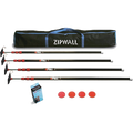 Zipwall ZP4 Dust Barrier System - Four Poles