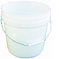ENCORE  2G WHITE PAIL WITH HANDLE
