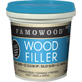 FAMOWOOD  .25PT NATURAL SOLVENT FREE WOOD FILLER