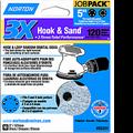 "NORTON  5"" 5 & 8 HOLE P120 3X HOOK & LOOP DISCS 10PK"