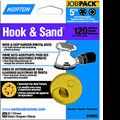 "NORTON 5"" 5 & 8 HOLE P120 HOOK & LOOP DISCS 25PK"