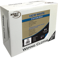 MERIT PRO  #5 4LB BOX WHITE COTTON KNIT WIPING CLOTHS