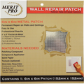 "MERIT PRO  6"" X 6"" WALL REPAIR PATCH"