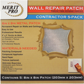 "MERIT PRO  8"" X 8"" WALL REPAIR PATCH - CONTRACTOR 5PK"