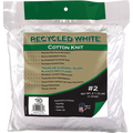 MERIT PRO  #2 2.5LB BAG RECYCLED WHITE COTTON WIPING CLOTHS