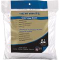 MERIT PRO  #1 1LB BAG NEW WHITE COTTON KNIT WIPING CLOTHS