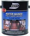 DEFT 259-04 Int/Ext Water Based Polyurethane SATIN - Quart
