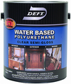 DEFT 258-04 Int/Ext Water Based Polyurethane SEMI-GLOSS - Quart