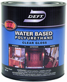 DEFT 257-04 Int/Ext Water Based Polyurethane GLOSS - Quart