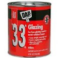 DAP 33 Glazing Compound White / Quart