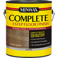MINWAX 67204 1G GLOSS AGED LEATHER COMPLETE 1-STEP FLOOR FINISH