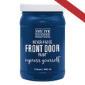 MODERN MASTERS 275270 QT BLUE SATIN FRONT DOOR PAINT CALM
