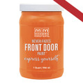 MODERN MASTERS 275272 QT ORANGE SATIN FRONT DOOR PAINT ENERGETIC