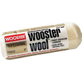 """WOOSTER RR633 9"""" WOOSTER WOOL 3/4"""" NAP ROLLER COVER"""