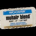 "WOOSTER R207 4"" MOHAIR BLEND 1/4"" NAP ROLLER COVER"
