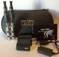 eGo Clear Beauty Full Kit Black & Chrome Skulls