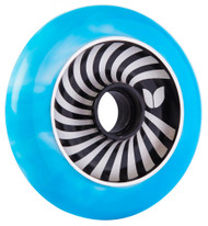 Blazer Pro Scooter Wheel Vertigo Aluminium Swirl - Blue/White