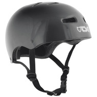 TSG Skate/BMX Injected Colour Helmet Black