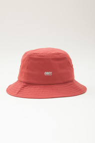 OBEY Traverse Bucket Hat - Red