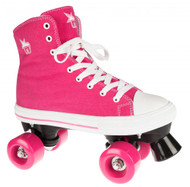 Rookie Rollerskates Canvas High  - Pink