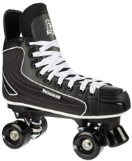 Rookie Rollerskates Raider Hockey