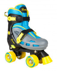 Rookie Adjustable Skate Duo Junior - Blue/Yellow