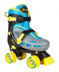 Rookie Adjustable Skate Duo Junior - Blue/Yellow