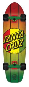 Santa Cruzer Complete - Rasta Dot Jammer - 33  IN
