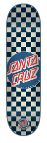 Santa Cruz Deck - Check Dot Blue - 7.9""