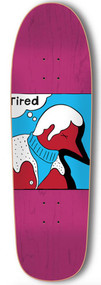 Tired / Parra Skateboards - Deck Man Slick - 9""