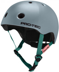 Pro-Tec Helmet - Satin Light Blue - Free Cap