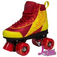 Luscious Retro Quad Skates - Ruby Reds
