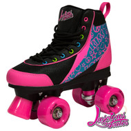 Luscious Retro Quad Skates - Disco Diva