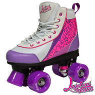 Luscious Retro Quad Skates - Purple Punch