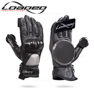 LOADED LEATHER RACE GLOVES (Pair) - S/M