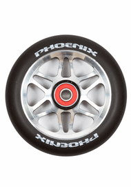 Phoenix F6 Alloy Core Wheel 110mm - Black/Black