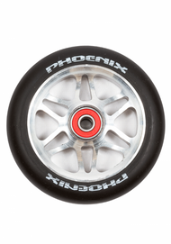Phoenix F6 Alloy Core Wheel 110mm - Grey/Black