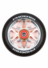 Phoenix F6 Alloy Core Wheel 110mm - Orange/Black