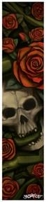 Sacrifice Grip Tape Sheets - Skull & Roses
